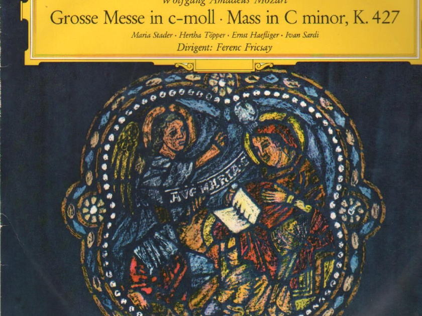 Mozart DG Tulip - Grosse Messe NM