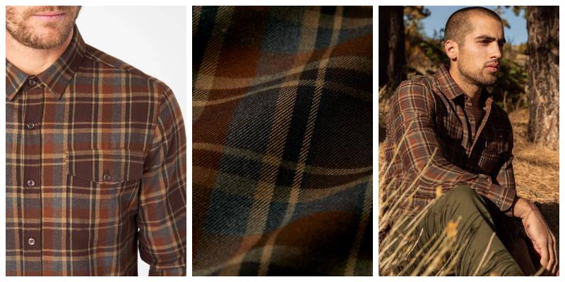 Gunnar Double Pocket Flannel Shirt