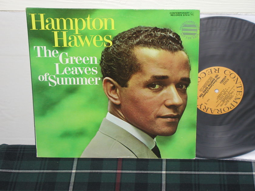 Hampton Hawes - Green Leaves Of Summer (Pics) Contemporary S7614