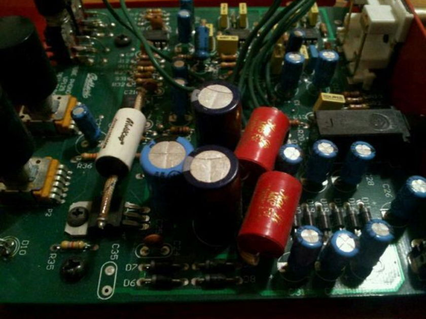 Bellari VP129 MM phono stage modified w/upgraded power supply
