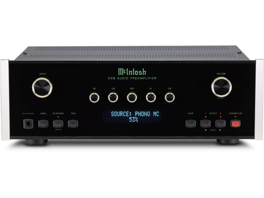 McIntosh C-48 Preamplifier New-in-Box