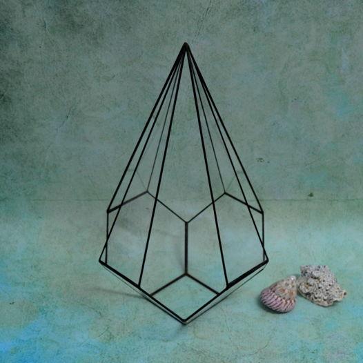 "Геометрический флорариум. Форма ""Сириус"""