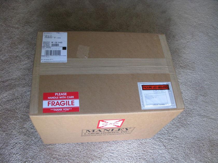 Manley Mahi Monoblocks NEW In Box!