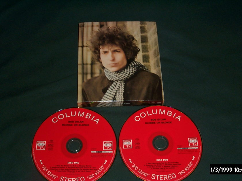 Bob Dylan - Blonde On Blonde SACD Hybrid NM