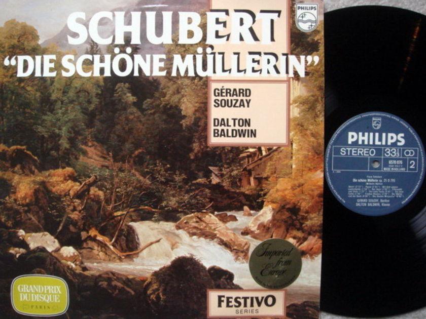 Philips / SOUZAY, - Schubert Die Schone Mullerin,  NM!