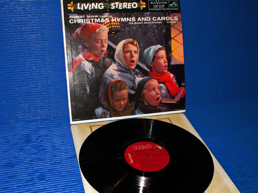"ROBERT SHAW CHORALE -  - ""Christmas Hymns & Carols"" -  RCA Red Seal"