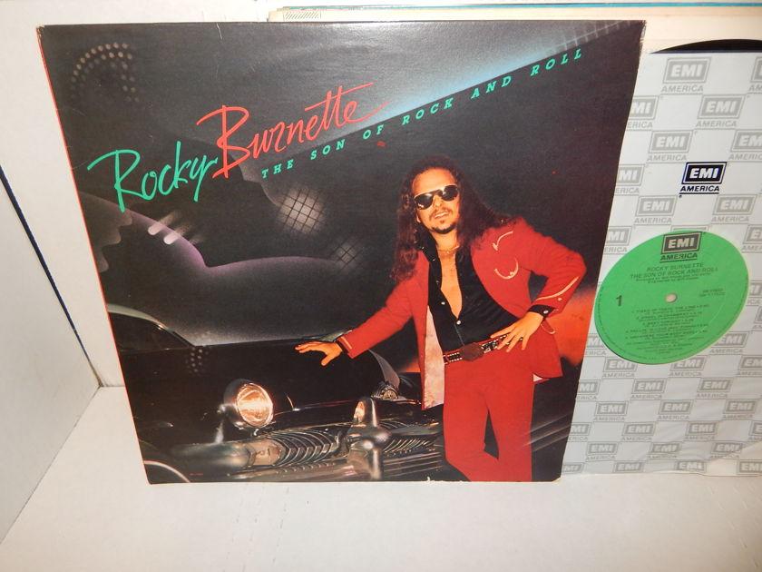 ROCKY BURNETTE  -  Son Of Rock And Roll EMI America NM LP