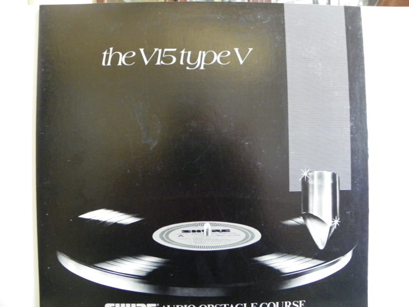 SHURE AUDIO OBSTACLE COURSE - THE V15 TYPE V