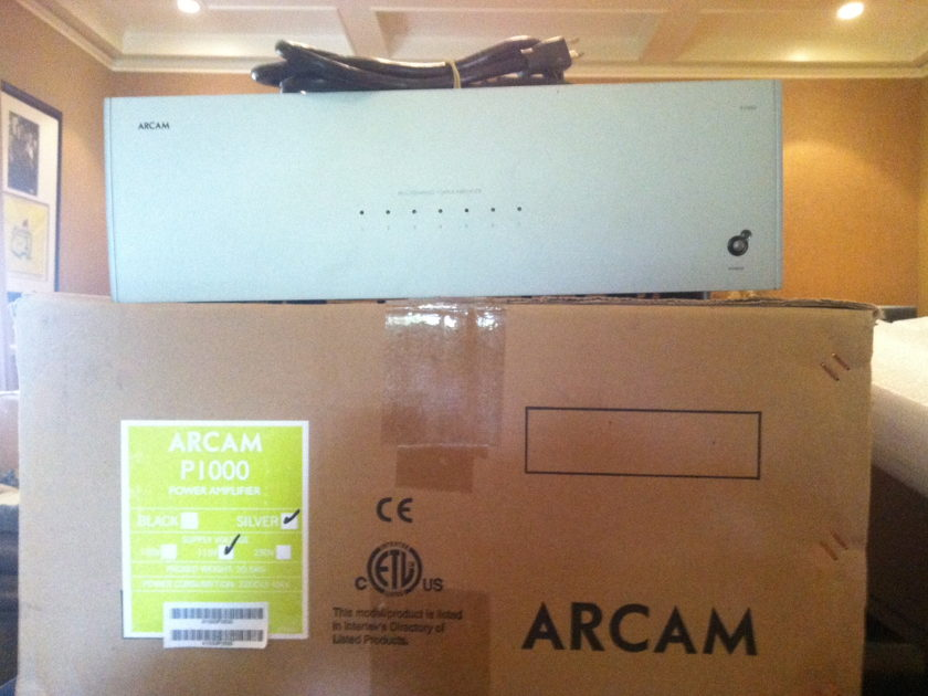 Arcam P-1000 7 CH 135W Power Amplifier
