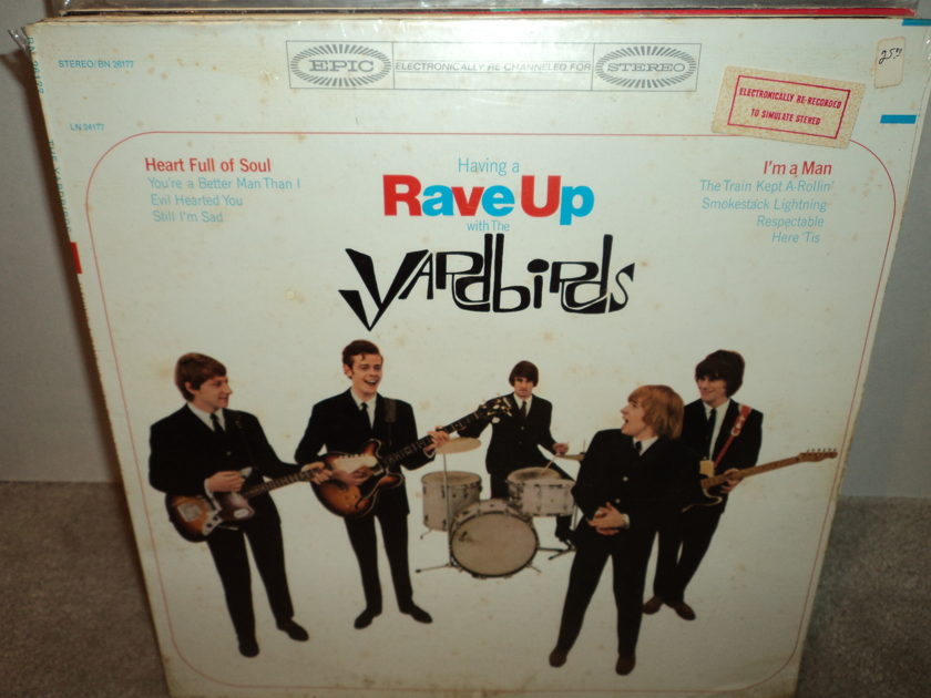 The Yardbirds (SEALED) - Having a RAVE UP with the Yardbirds Brand New