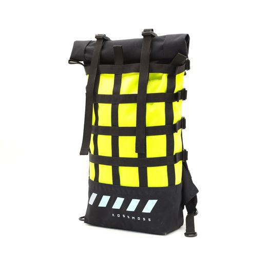 Рюкзак Лимонный Неоновый / Светоотражающая Сумка / Aquamarine webbing reflective bag