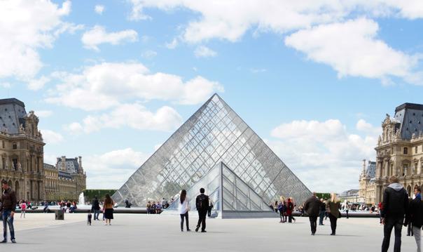 Второе посещение Лувра - Вечерняя прогулка по музею