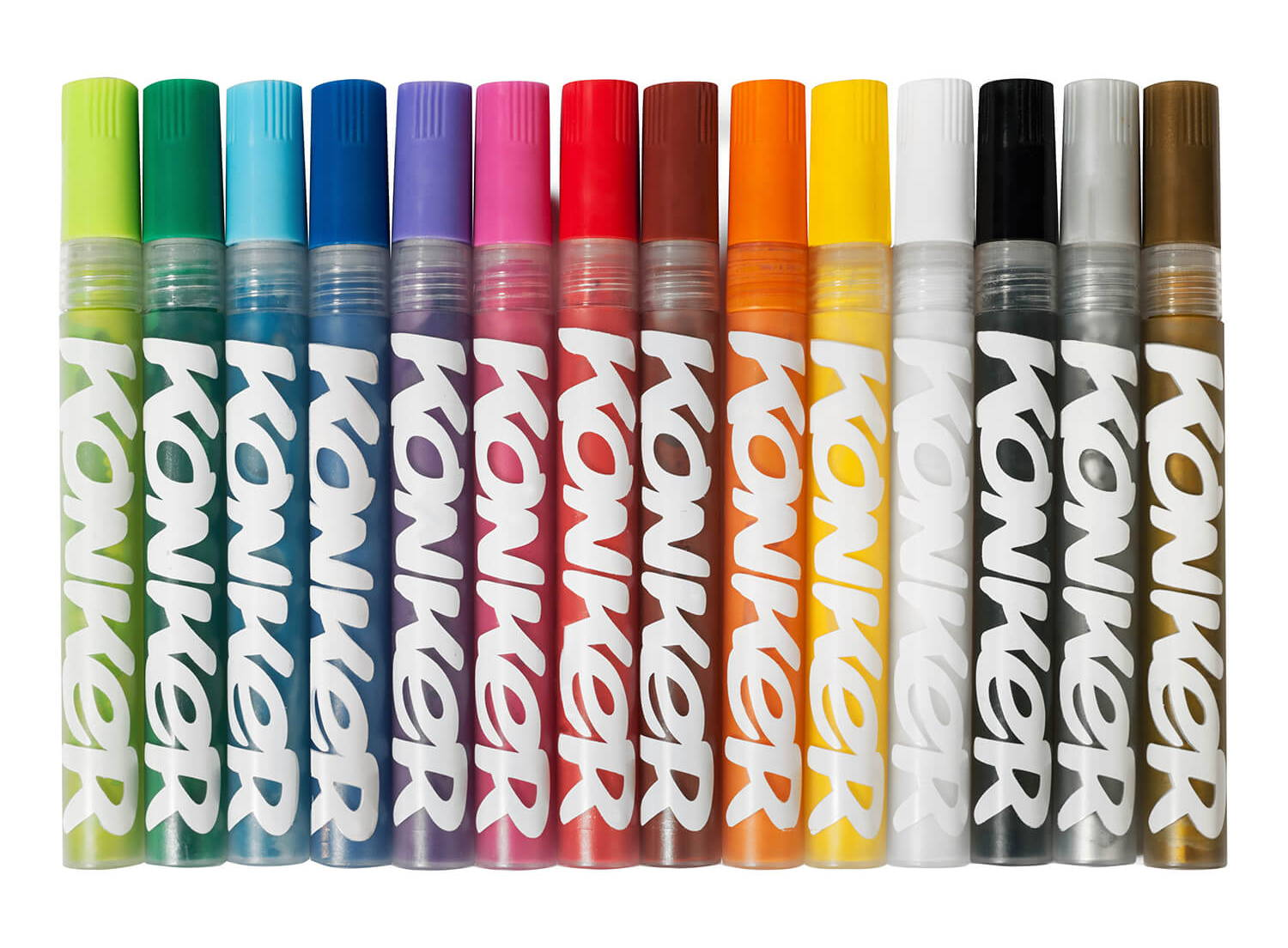 Konker Colors Acrylic Paint Markers