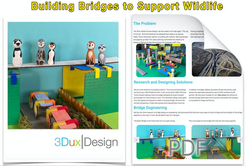 students learning urban planning with 3DuxDesign architecture sets