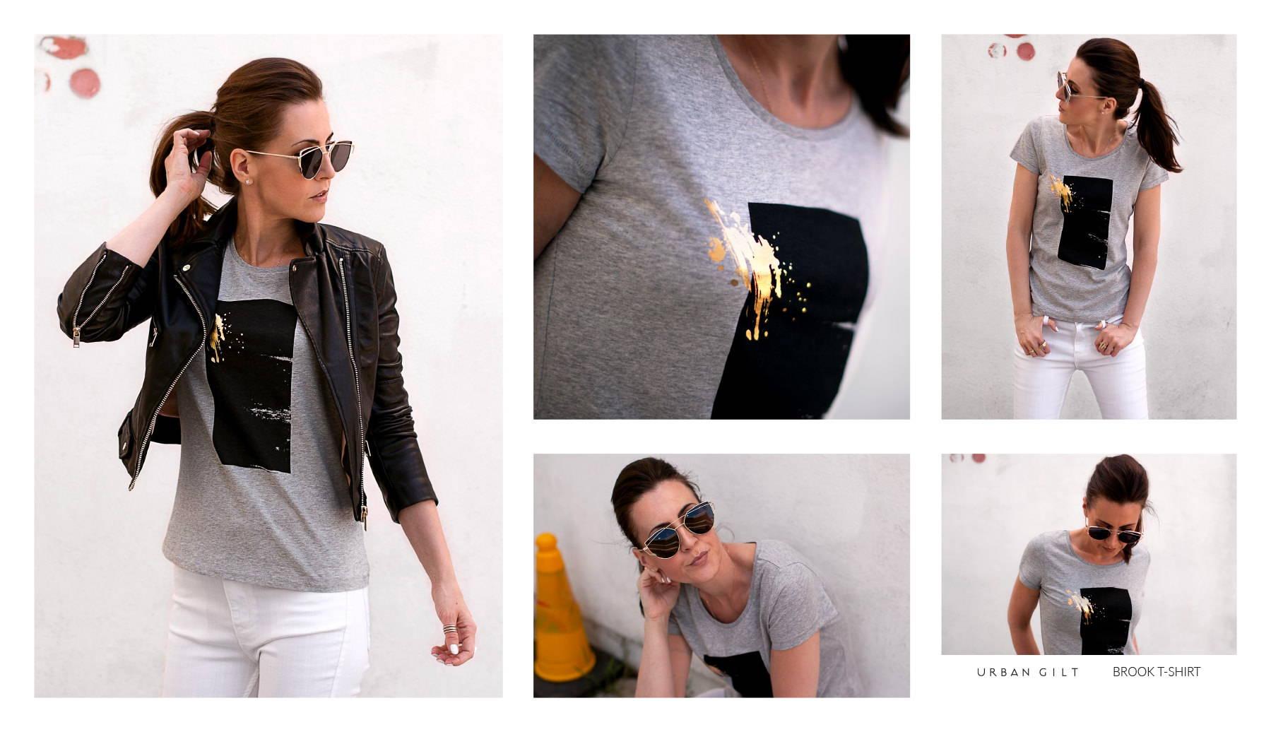 Urban Gilt Lookbook | Uptown Style | Brook T-shirt