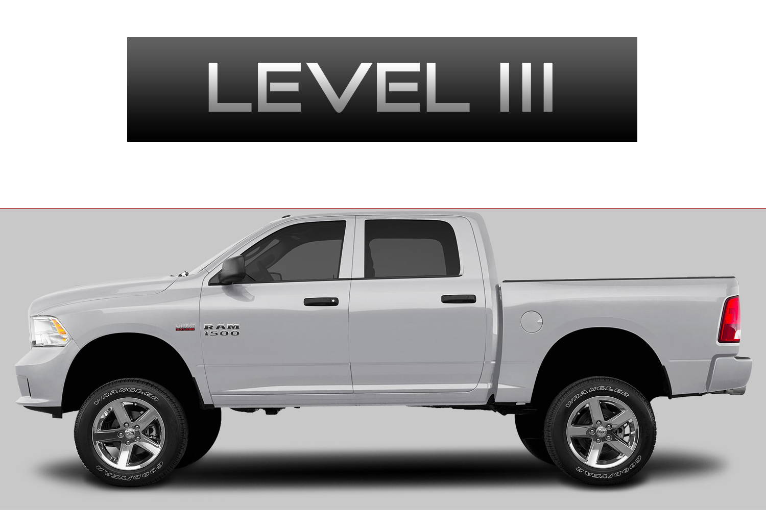 Dodge RAM 1500 Off-Road Customizing Package Level 3 by 3C Trucks