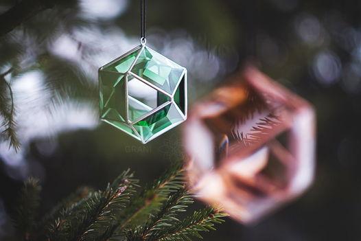 Большой Зеленый Кристалл (новогоднее украшение)