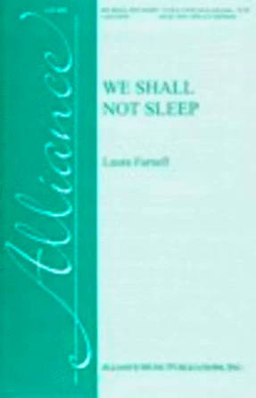 We Shall Not Sleep TB - Laura Farnell