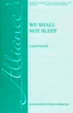 We Shall Not Sleep TB - Laura Farnell