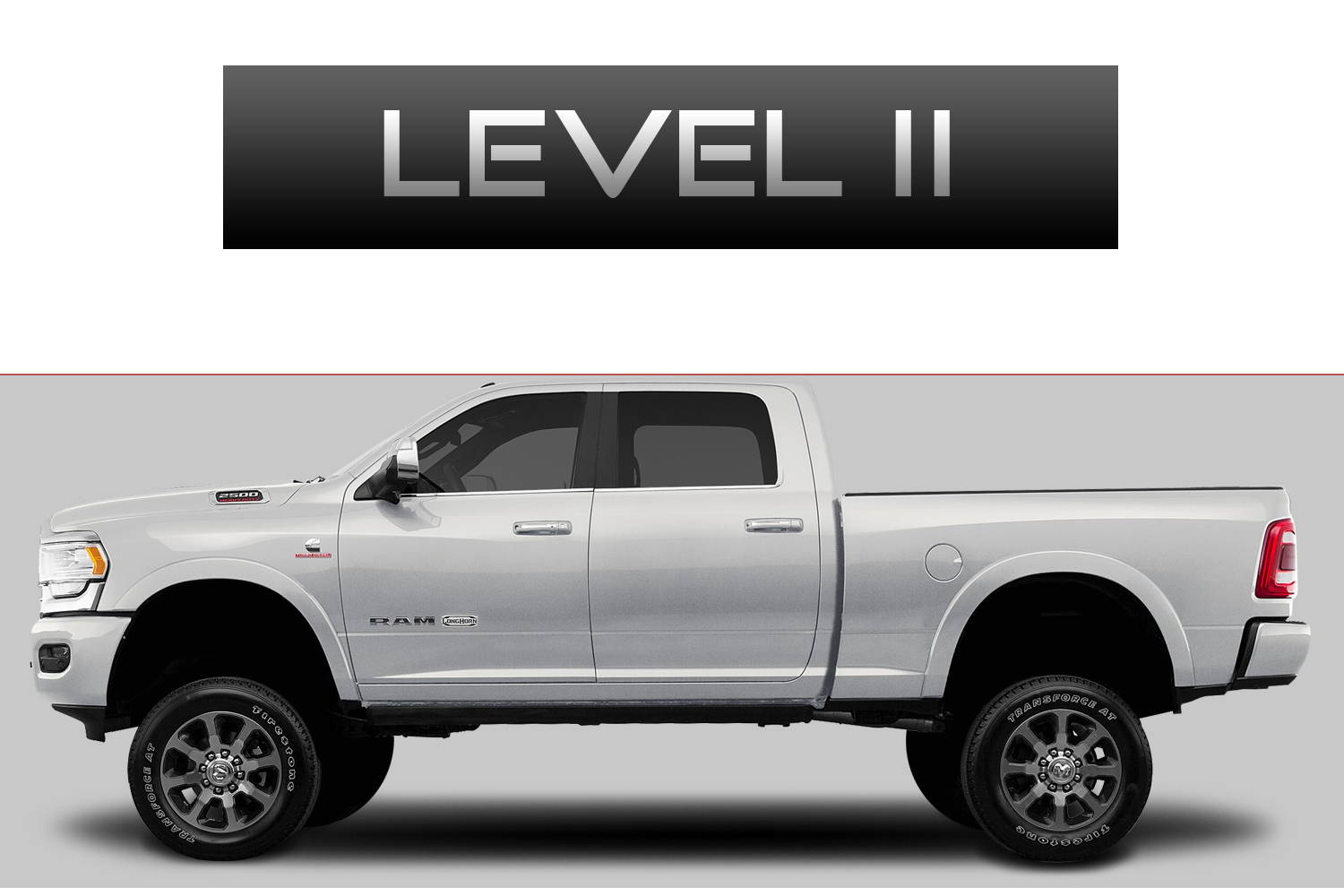 Dodge RAM 2500 Off-Road Customizing Package Level 3 by 3C Trucks