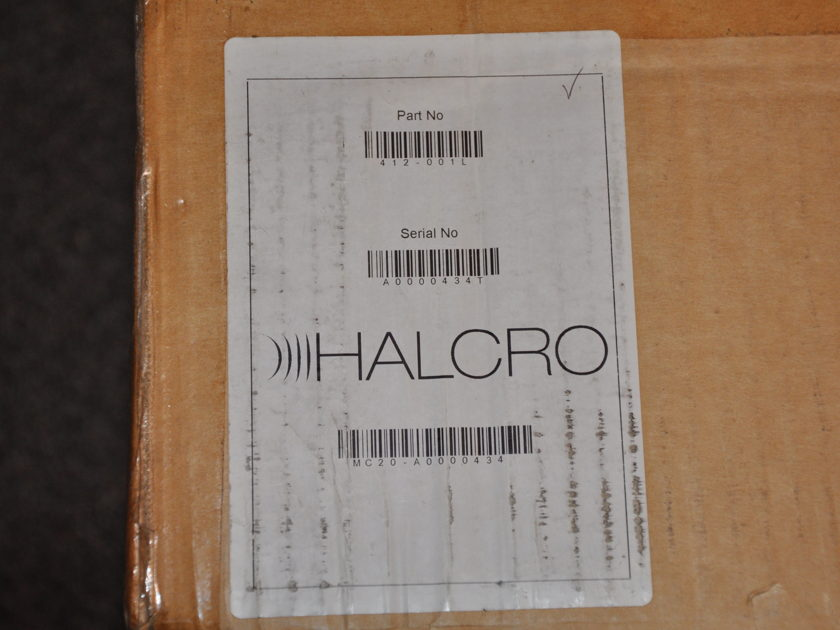 Halcro MC20 High End 2 Channel Amplifier