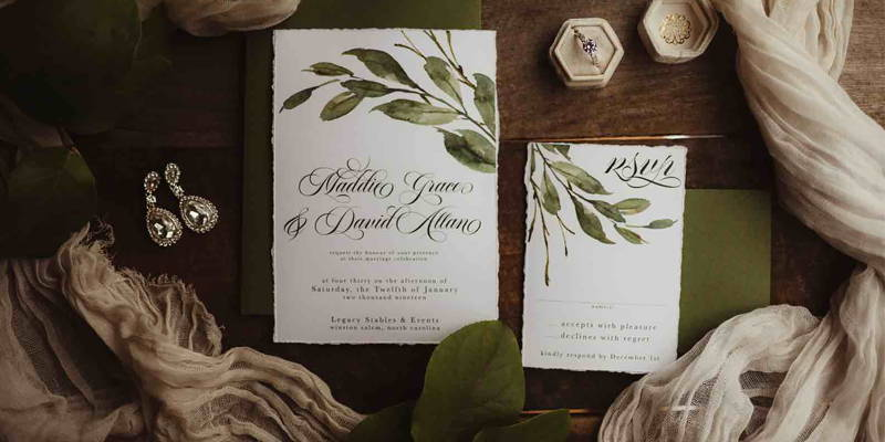 How to Draft a RSVP Card