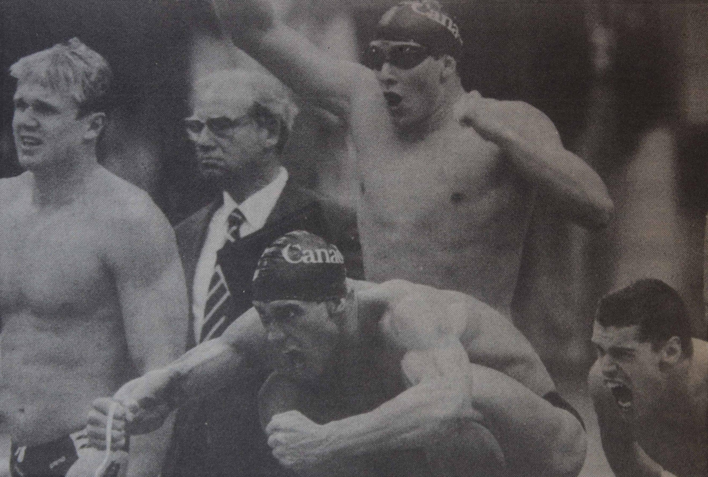 1988 Olymics, Tom Ponting, Victor Davis & Mark Tewksburry