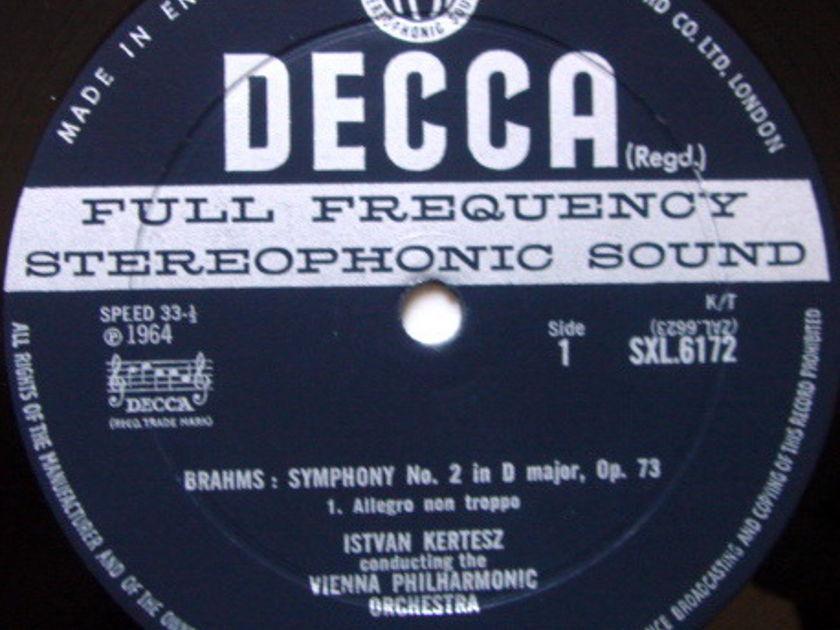 DECCA SXL-WB-ED2 / KERTESZ, - Brahms Symphony No.2, NM!