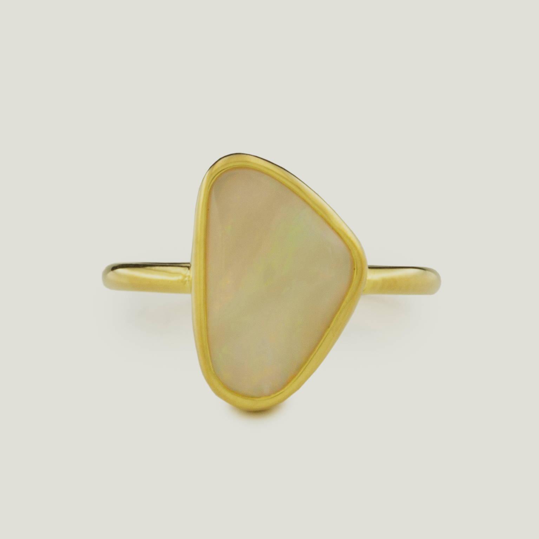 Earth Shield Opal Ring