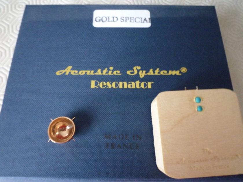 Acoustic System  Resonators - Franck Tchang