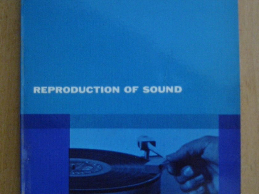 Reproduction of Sound vol 2 by - Edgar Villchur  deceased designer  of AR Acoustic research speakers