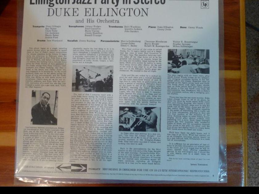 Duke Ellington - Jazz Party CS-8127 Classic Records original reissue 180G 1990's Sealed