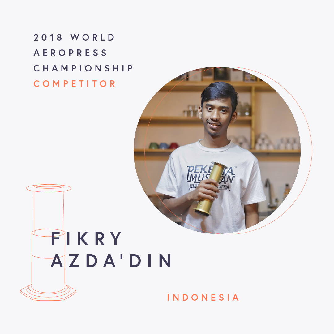 The World AeroPress Championships: Fikry Azda'Din