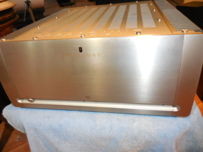 Parasound A21 Stereo Power Amp