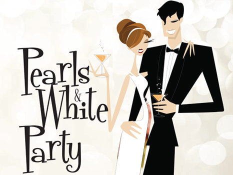 Pearls & White Cocktail Party