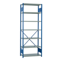 Industrial Steel Shelving bllue and grey rousseau