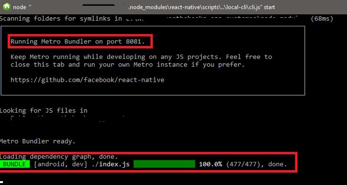 Metro Bundler in React native   Codementor