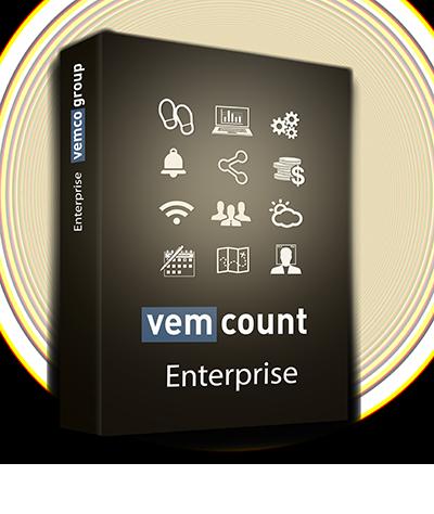 Vemcount footfall data analytics enterprise software