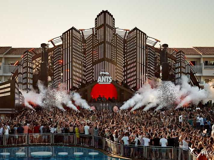 Party Review ANTS with Andrea Oliva, Ushuaia Ibiza club Tickets