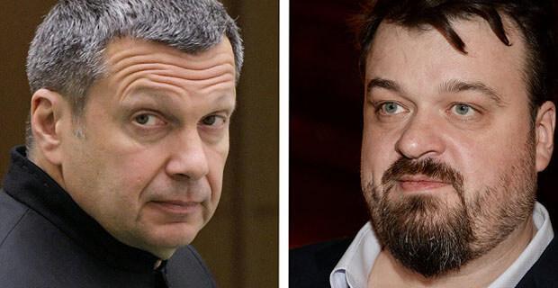 Уткин ответил пригрозившему ему расправой Соловьеву и предрек ему инсульт - Новости радио OnAir.ru