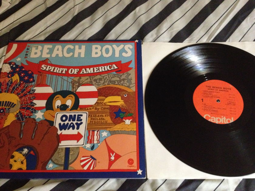 Beach Boys -  Spirit Of America 2 LP NM Capitol Gatefold Cover