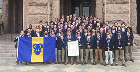 Reinstallation Ceremony held for Texas Chapter