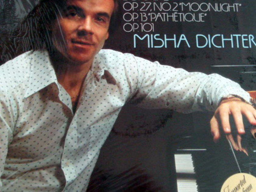 ★Sealed★ Philips / DICHTER, - Beethoven Piano Sonatas No.8 Moonlight, No.8 Pathetique & No.28!
