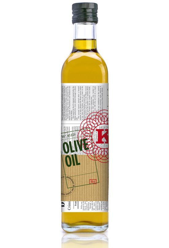 OLIVE OIL newspaper