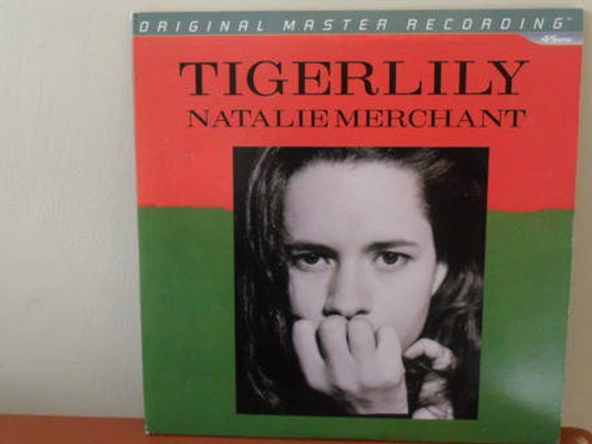 Mobile Fidelity 1/2 - SPEEd: natalie merch ant tigerlily double lp mint -