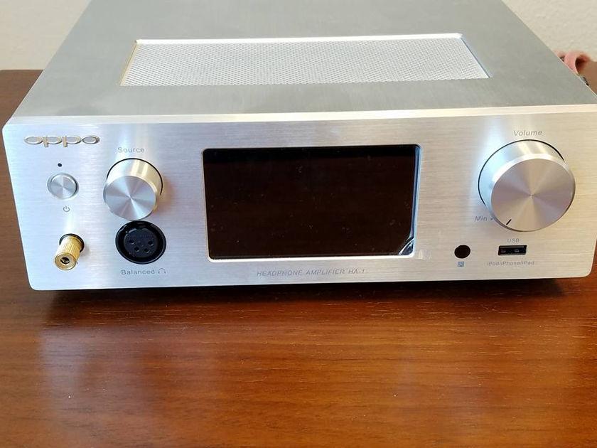 Oppo Headphone Amplifier/Dac HA-1