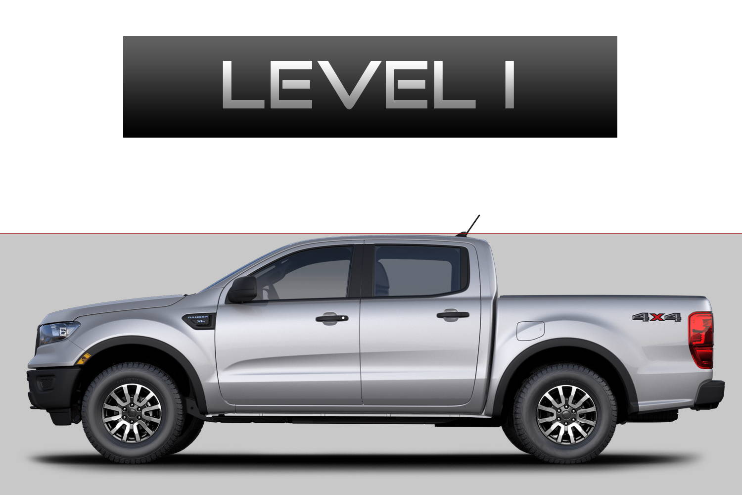 Ford Ranger Off-Road Customizing Package Level 1 by 3C Trucks