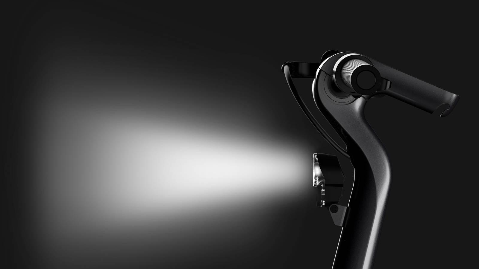 Okai ES500 Bike Light bright handlebars screen