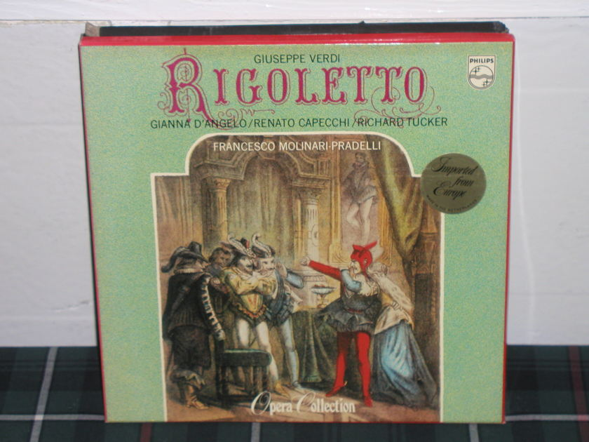 Molinari-Pradelli - Verdi/Rigoletto Philips Import LP 6747