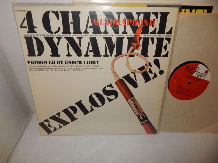 ENOCH LIGHT 4 CHANNEL DYNAMITE - EXPLOSIVE QUADRAPHONIC 1972 Project Audiophile LP